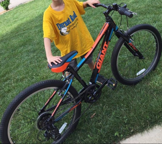 ethan new bike