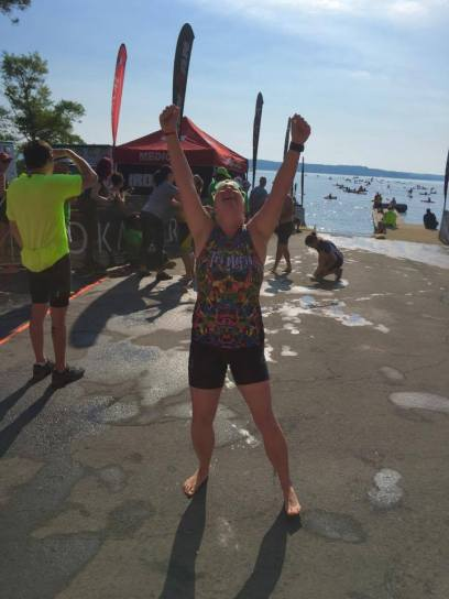 Ironman 1.2 mile swim, 2017