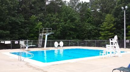 optimist diving pool